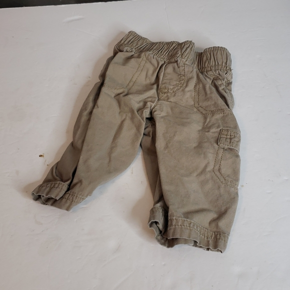 jumping beans Other - 🖤5/$12 Jumping Beans Tan Cargo Pants Size 6 Month